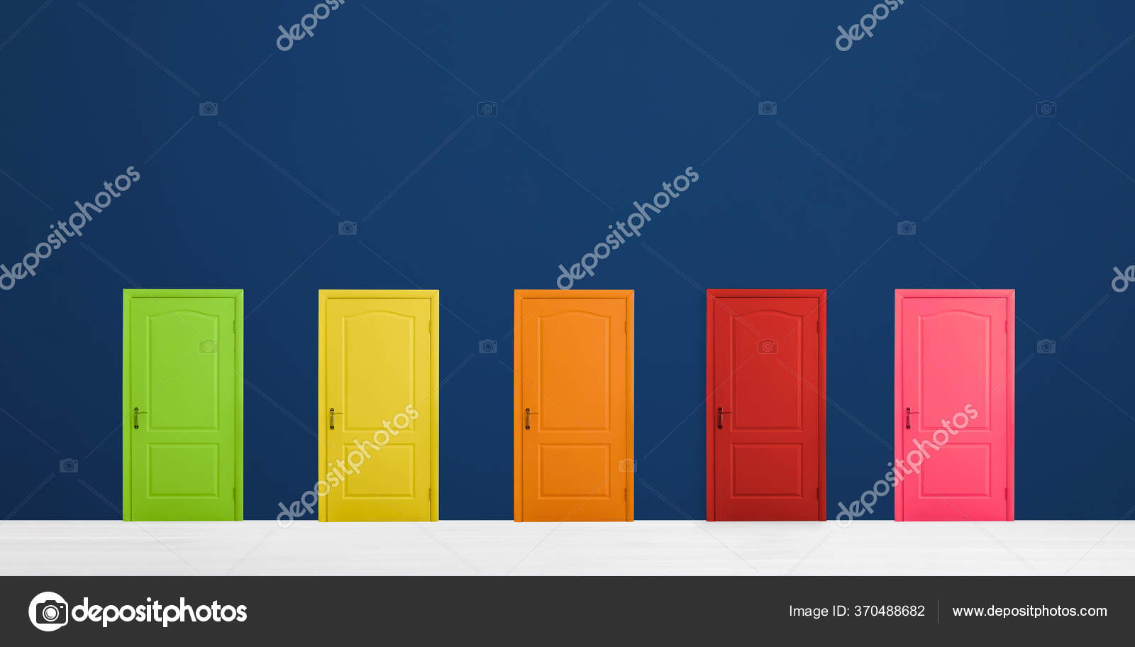Many attractive doors - which one do you choose?